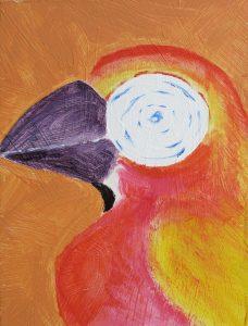 Orange fulg
