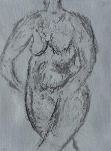 Nøgen kvinde